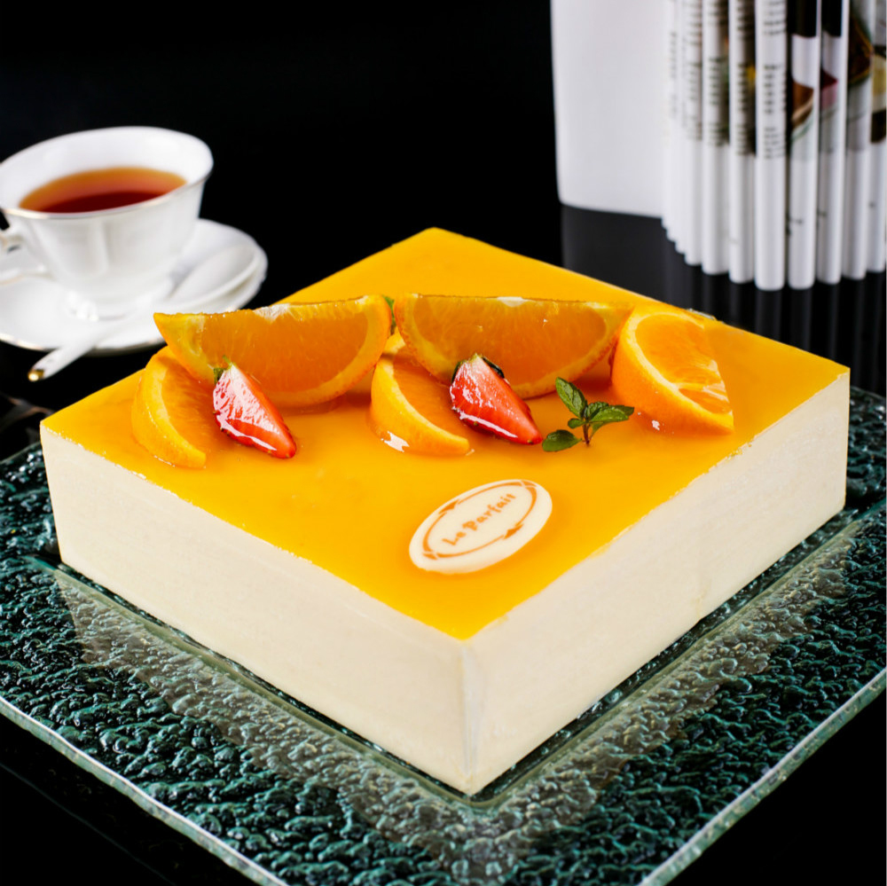 香橙慕斯Orange Mousse Cake