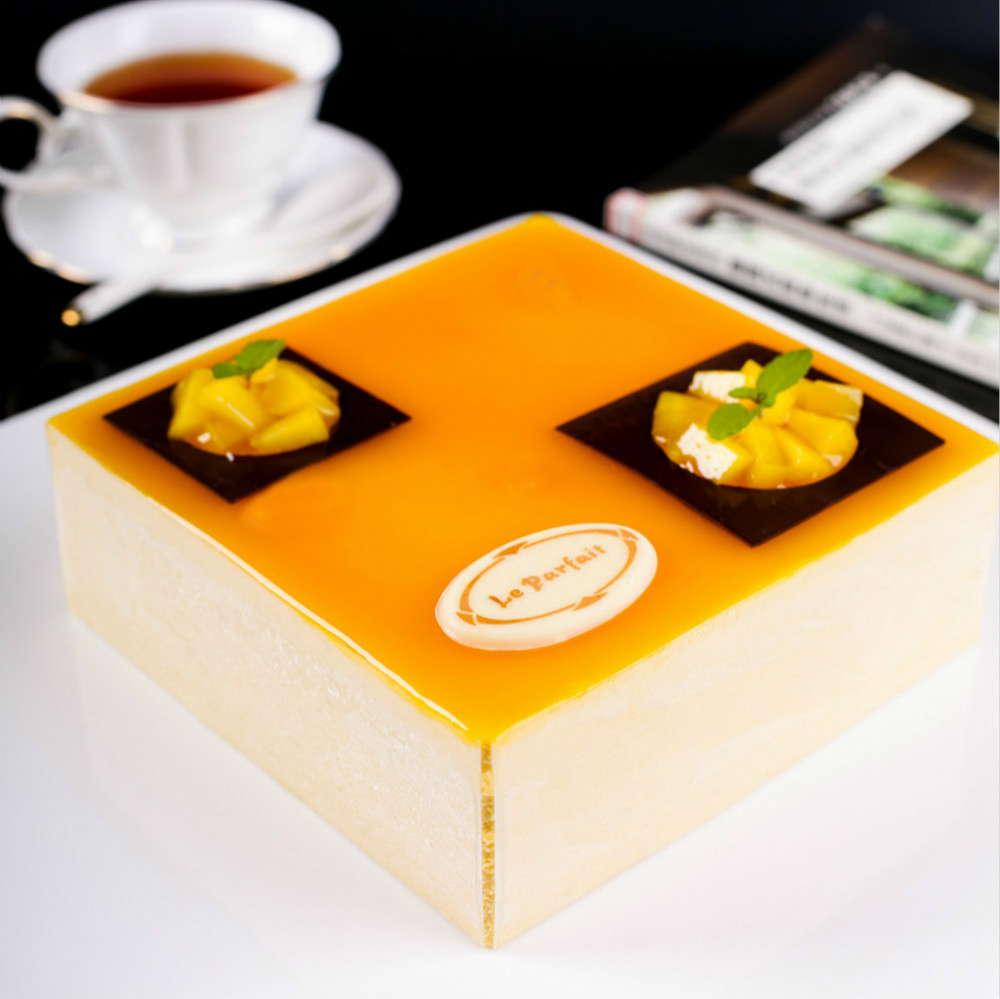 酸奶杏慕斯 Yogurt apricot mousse cake